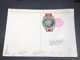 TONGA - Carte Postale Commémorative Du 1er Homme Sur La Lune En 1971 - L 20376 - Tonga (1970-...)