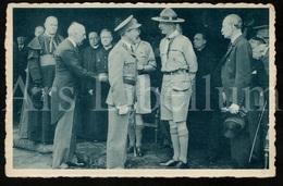 Postcard / ROYALTY / Belgique / België / Roi Leopold III / Koning Leopold III / Baden Powell Belgian Scouts / 1938 - Scoutisme