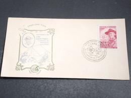 BRÉSIL - Enveloppe FDC  En 1957 - Baden Powell - L 20380 - FDC