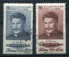 Russie Ob N° 1729/1730 - An. De Staline - 1923-1991 USSR