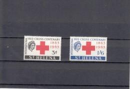 Santa Helena Nº 160 Al 161 - Sellos