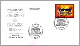Parlamento De Bretaña - Rennes - RELOJ DE SOL - SUNDIAL. Rennes 2000 - Relojería