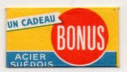 Lame De Rasoir Cadeau Bonus, Acier Suédois. Razor Blade. - Lames De Rasoir