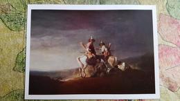 """Bashkir Soldiers"" By Allan - OLD USSR Postcard - ARCHERY - Archer - Tir à L'Arc"