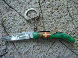 Couteaux Porte Clef Challes Les Eaux Savoie - Art Populaire