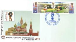 Armenien / Armenie / Armenia / Artsakh / Karabakh 2018, FIFA World Cup Russia, Football Soccer - FDC - Armenië