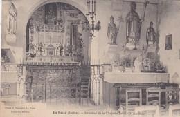 LA SUZE - Dept 72 - Intérieur De La Chapelle De N-D Des Bois - CPA - La Suze Sur Sarthe