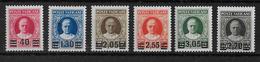 VATICAN - RARE SERIE 1934 YT N° 60/65 * CHARNIERE LEGERE TOUS SIGNES - COTE = 1400 EURO - Neufs