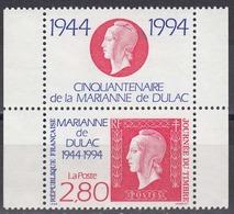 FRANCE Yvert N° 2863. Emis Uniquement En Carnet Avec Logo. Neuf Sans Charniere. MNH. PERFORATE - Frankreich