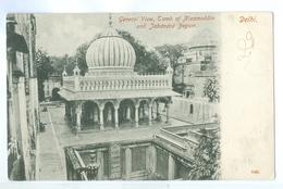 1900's, India, Delhi, Tomb Of Nizamuddin & Jahanara Begum. Printed Pc, Unused. - India