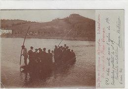 San Sebastian - Fest Des Ignazio De Loyola - Ueberquerung Des Flusses Urumea - Frühe Fotokarte - 1904      (180722) - Guipúzcoa (San Sebastián)