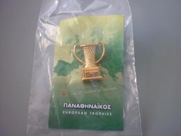 Panathinaikos Basketball Thessaloniki 2000 European Trophy Pin Badge - Basketball