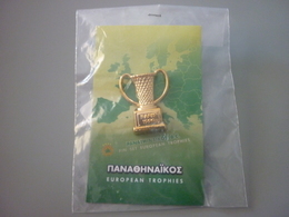Panathinaikos Basketball Paris 1996 European Trophy Pin Badge - Pallacanestro