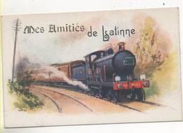 38725   -  Mes Amitiés De Latinne  -  Train - Braives