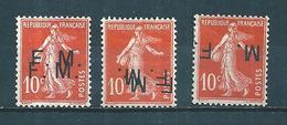 France Timbre De Franchise N°5 Fausse Surcharge - Militärpostmarken