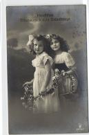 1 Postcard Children And Family Herzlichen Gluckwunsch Zum Geburtstage Pcchild263 - Groupes D'enfants & Familles
