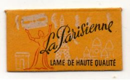 Rasage. Razor Blade. Lame De Rasoir La Parisienne, Lame De Haute Qualité. - Lames De Rasoir