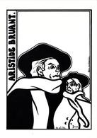 CPSM Hommage à Aristide BRUANT Poète Chansonnier Tirage Limité Illustrateur LARDIE - Lardie