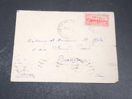 MARTINIQUE - Enveloppe De Saint Joseph Pour Paris En 1939 - L 20389 - Martinique (1886-1947)