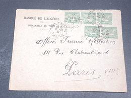 TUNISIE - Enveloppe Commerciale De Tunis Pour Paris En 1934 - L 20392 - Tunisia (1888-1955)