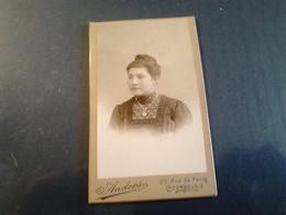 PHOTO Ancienne Femme Photographe ANDERS  Courbevoie  TB - Photos