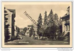 Wilthen - Bahnhofstrasse - Foto-AK - Wilthen