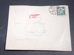 ALLEMAGNE - Enveloppe De Saarbrucken En 1935 - L 20396 - Allemagne