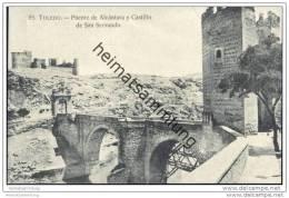 Toledo - Puente De Alcantara Y Castillo De San Servando - Toledo