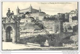 Toledo - Puente De Alcantara Y Alcazar - Toledo