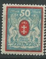 Dantzig -   - N°  102 *   -    Ava 19209 - Dantzig