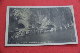 Lago Di Garda Gardesana Occidentale Brescia Le Gallerie N. 801 Ed. De Lucia 1931 + Timbro Frazionario Gargnano - Ohne Zuordnung