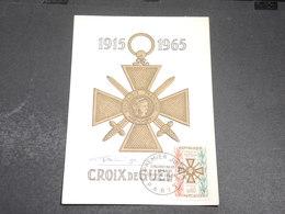 FRANCE - Carte Maximum 1965 , Croix De Guerre , Signature Du Graveur - L 20409 - Cartes-Maximum