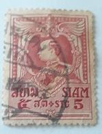 SIAM  Thailand 1920  USED KING VAJIRAVUDH - Siam