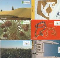 6 CARTES - Mauritanie