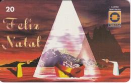 TARJETA DE BRASIL DE NAVIDAD - NACIMIENTO (CRISTMAS) TELERJ - Brésil