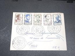 FRANCE - Enveloppe FDC En 1957 , Héros De La Résistance - L 20418 - FDC