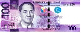 Philippinen 100 Piso 2016 J Erh 2-3 - Philippines