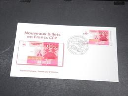 POLYNÉSIE - Enveloppe FDC En 2014 ,  Nouveau Billet En Francs CFP - L 20420 - FDC