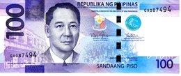 Philippinen 100 Piso 2014 A Erh 2-3 - Philippines