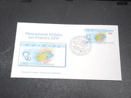 POLYNÉSIE - Enveloppe FDC En 2014 ,  Nouveau Billet En Francs CFP - L 20421 - FDC
