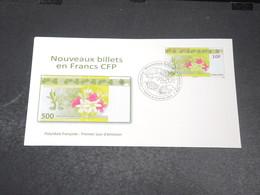 POLYNÉSIE - Enveloppe FDC En 2014 ,  Nouveau Billet En Francs CFP - L 20423 - FDC