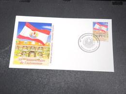 POLYNÉSIE - Enveloppe FDC En 2014 ,  Autonomie - L 20424 - FDC
