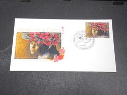 POLYNÉSIE - Enveloppe FDC En 2014 ,journée De La Femme - L 20428 - FDC