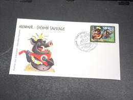 POLYNÉSIE - Enveloppe FDC En 2014 , Cochon Sauvage - L 20431 - FDC