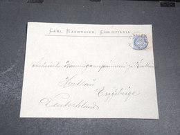 NORVEGE - Enveloppe Commerciale De Christiania En 1902 - L 20433 - Briefe U. Dokumente