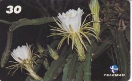 TARJETA DE BRASIL DE UNA DAMA DE NOITE  (FLOR-FLOWER) TELEMAR - Flores