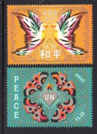 5.-  UNITED NATIONS 2017 International Day Of Peace - (New York) - (Set Mint) - Nuevos