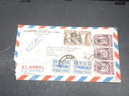 PEROU - Enveloppe De Lima Pour La France En 1948 - L 20437 - Pérou