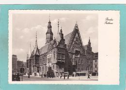 Old Postcard Of Rathaus,Breslau,Wrocław,Poland.,N5. - Poland