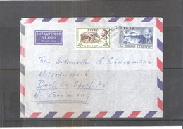 Cover From Ethiopia To Germany (with Contents) - 1961 (to See) - Ethiopie